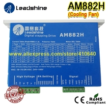купить Free Shipping AM882H Leadshine 2 Phase Digital Stepper Drive With  Max 80 V / 8.2A,both for AC or DC input по цене 5452.13 рублей