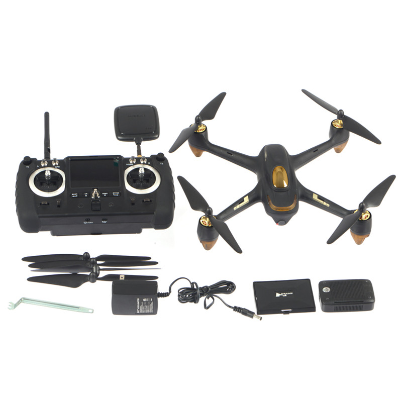 JJRC Hubsan H501S X4 5.8G FPV Real-time Video Transmission 4-Axis Quadcopter 10CH Brushless 1080P HD Camera GPS RC Airplanes