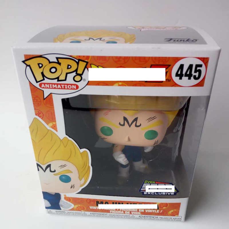 Vinil Funko pop Anime Dragon Ball Z Majin VEGETA Action Figure Coleção Modelo Brinquedos para Crianças presente de Aniversário