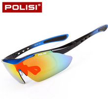 POLISI Outdoor Sport Polarized Cycling Glasses Sports Glasses Sunglasses Goggles