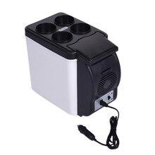 12V 6L/8L Портативный мини потепление охлаждения автомобиля холодильник морозильник холодильник горячей и холодной воды, двойная для автомобиля и дома, Применение