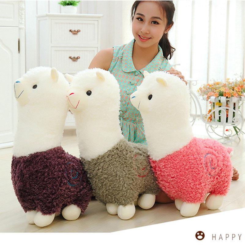 Cute 40cm მულტფილმი Alpaca Plush - პლუშები სათამაშოები - ფოტო 2