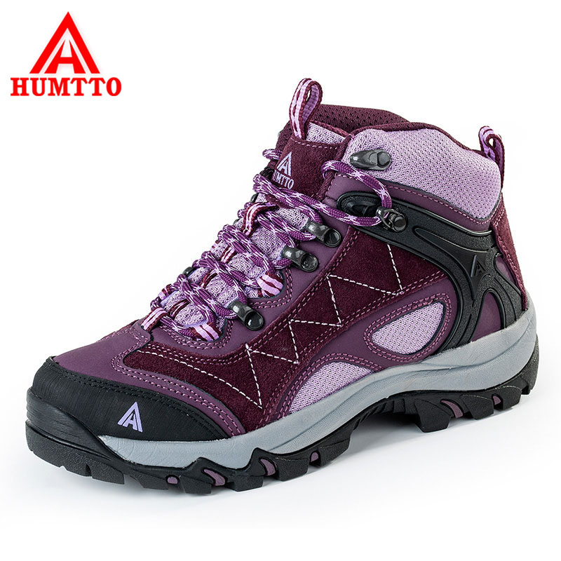 HUMTTO Women's Hiking Shoes Thermal Outdoor Shoes Fur Waterproof Breathable Trekking Shoes Anti-Slippery Mountain Sneakers Boots lf25 to251 252