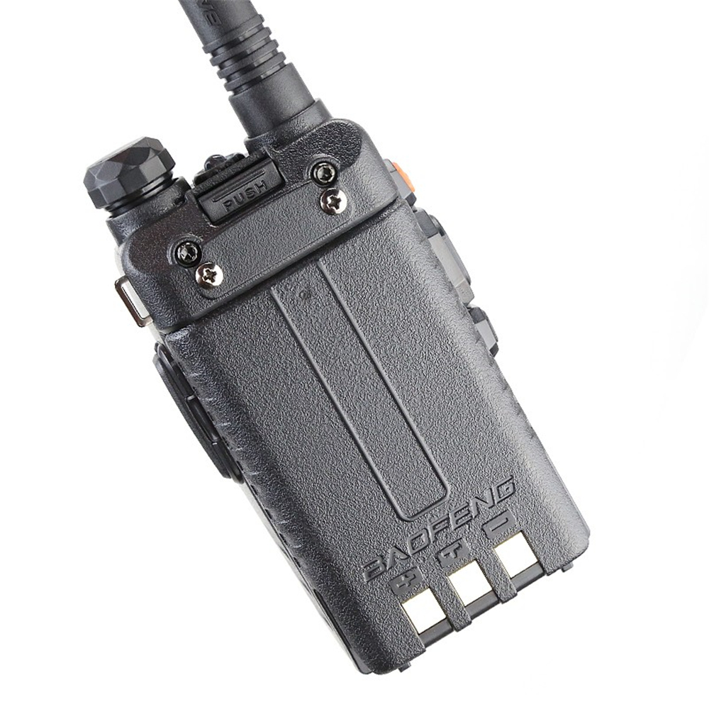 Image 5 - Baofeng UV 5RA Walkie Talkie 5W High Power Dual Band Handheld Two Way Ham Radio UHF/VHF Communicator HF Transceiver Security Use-in Walkie Talkie from Cellphones & Telecommunications