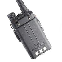"vhf uhf Baofeng UV-5RA מכשיר הקשר 5W High Power Dual Band כף יד שני הדרך Ham Radio UHF / השתמש אבטחה מקמ""ש HF Communicator VHF (5)"