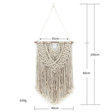 New hand-made tapestry Nordic decoration Bohemian simple home pendant wall hangings