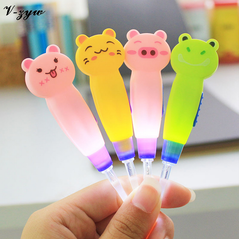 2016 New Cartoon Baby Care Syringe Ear Wax Remove LED Flashlight Ear Pick Cleaner Tool Curette