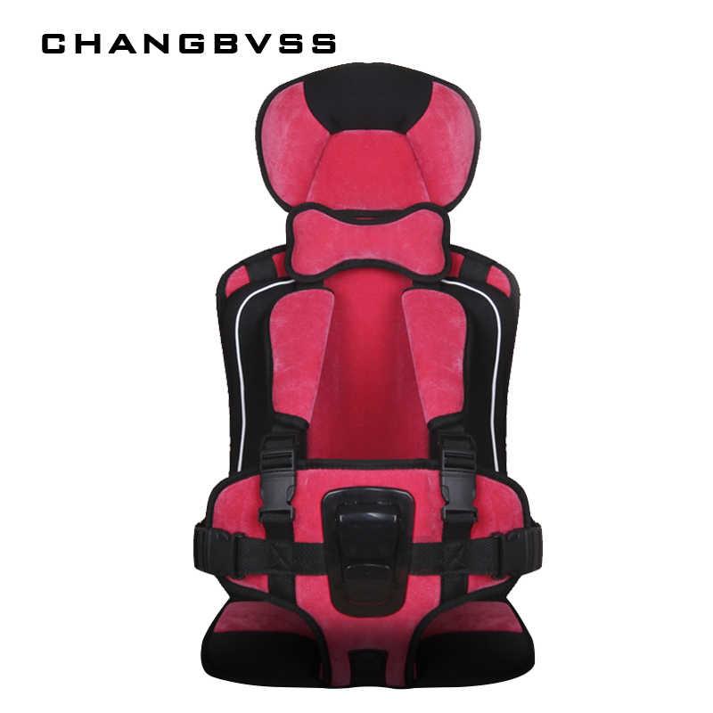 Mat Para Viajar Portátil Almofada Do Assento Para Crianças Da Criança do bebê Infantil Sentado Cadeira Almofada Cor Lisa Criança Cadeira de Assento de Proteção