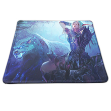 Sizzling Sport Feminine Night time Elf Hunter Portray Mouse Pad Lock Edge PC Pc Laptop computer Gaming Mousepad Optocal Velocity Mice Mat