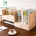 Louis Moda criativa crianças mesa de madeira combinado rack de desktop estante simples estante pequena