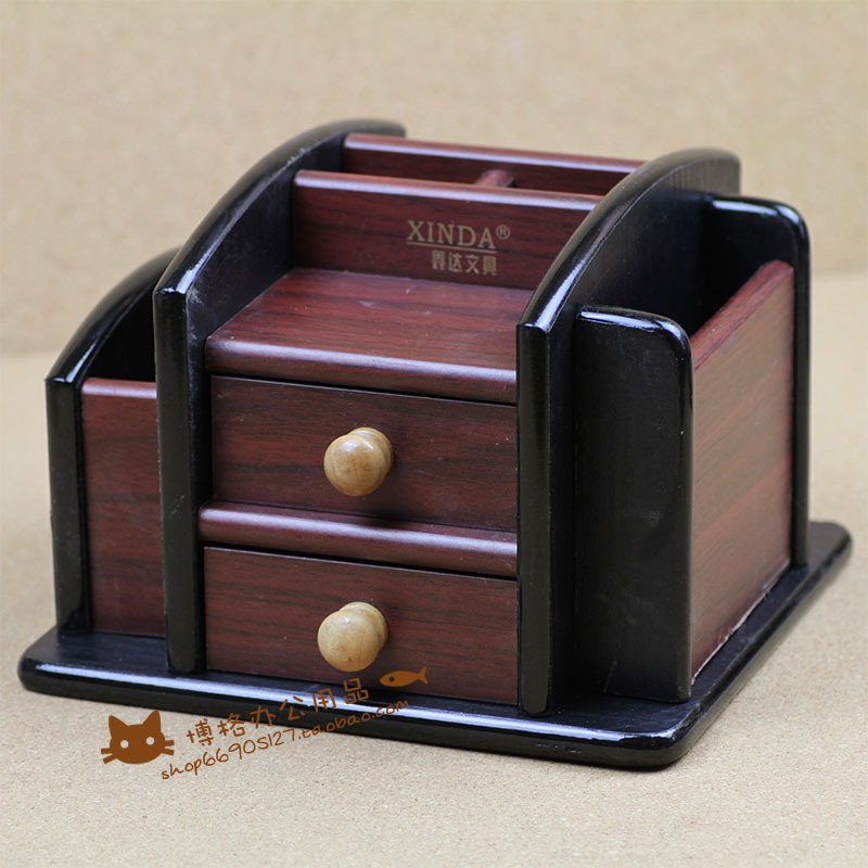 FREE shipping Xinda xd-5019 - quality wool pen wooden pen multifunctional pen office stationery storage pen free shipping wood 6051 wool multifunctional pen office pen holder notes box supplies