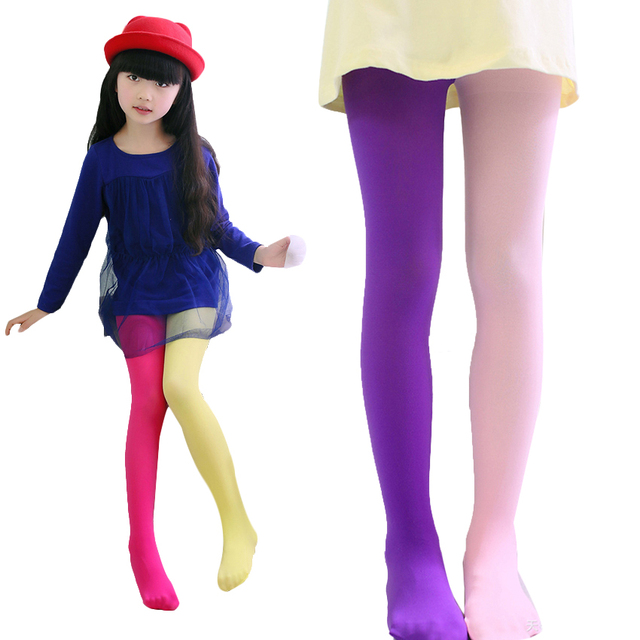 Tights For Girls Cotton Girls Stockings Autumn Spring New Kids Clothes For Girls Novelty Baby Girl