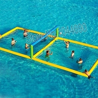 Free shipping inflatable water volleyball court for water games