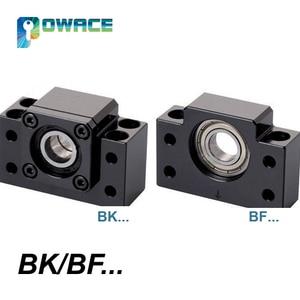 Image 5 - [EU STOCK] Square 20mm L 400/1000/1500mm Linear Rail Guide & 3x Ballscrew SFU2005 with Nut& 3 Set BK/B15 + 8*12 30*35 Coupling