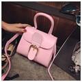 Bolsa Feminina Women Leather Handbags Buckle Strap Small Tote Bags Fashion OL Crossbody Shoulder Bag Female Designer Handbags