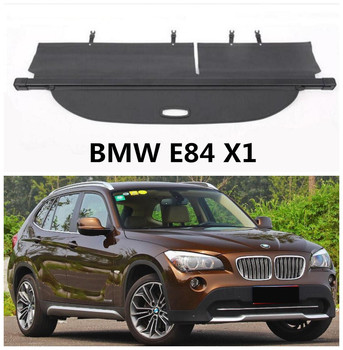 For BMW X1 E84 2009 2010 2011 2012 2013 14 2015 Rear Trunk Cargo Cover Security Shield Screen shade High Qualit Car Accessories
