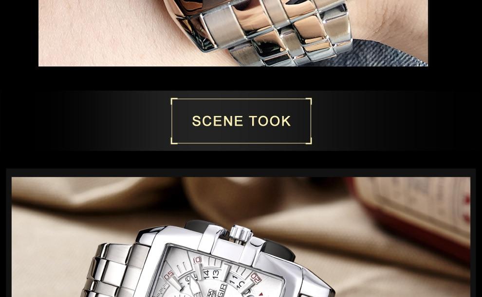 2018-En_21  MEGIR Males's Large Dial Luxurious Prime Model Quartz Wristwatches Artistic Enterprise Stainless Metal Sports activities Watches Males Relogio Masculino HTB1jDO5DCBYBeNjy0Feq6znmFXab