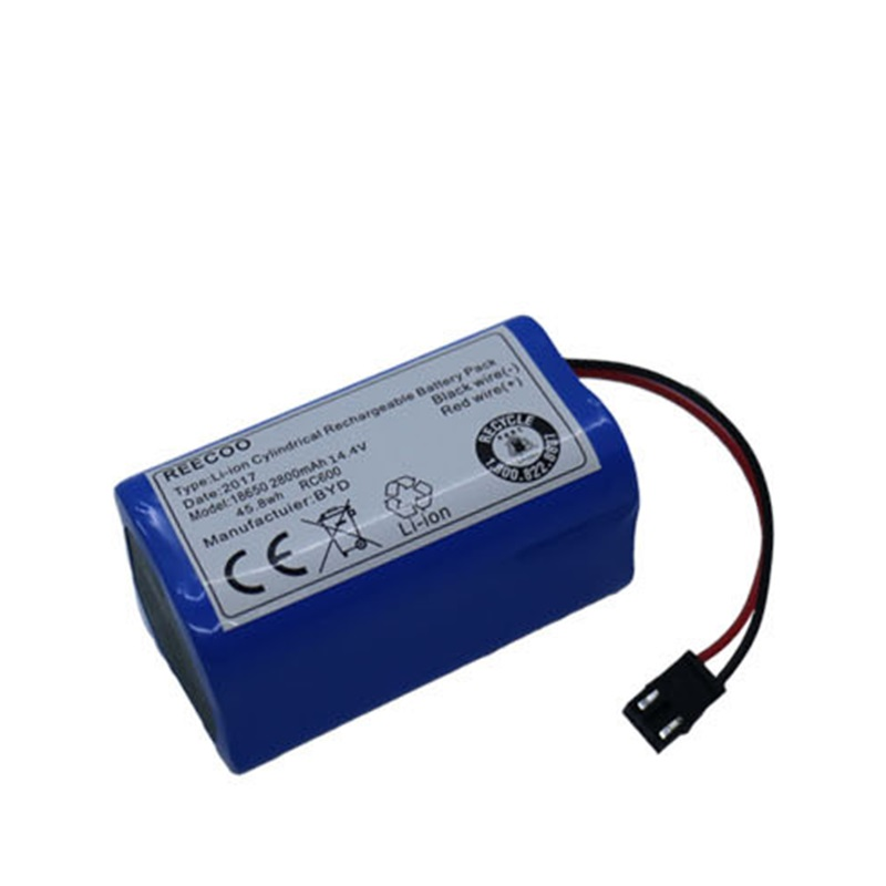 Battery For PUPPYOO V-M900R V-M900G Robot Vacuum Cleaner Sweeper New Li-Ion Rechargeable Bateria Pack Replacement 14.8V 2600mAh