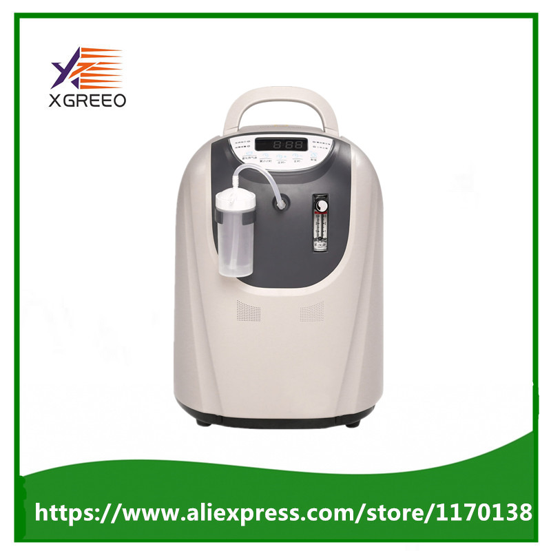 XGREEO XTY-AC-302 Medical Use Portable Oxygen Concentrator Generator 110V/220V Oxygenation Oxygen Supplier Oxygen Making Machine 32w oxygen concentrator machine portable oxygen generator 3l min low noise
