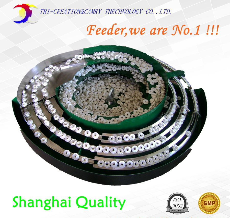 rubber plug vibratory bowl feeder/sorter,SUS304 automatic plastic cap vibrate bowl feeder_Dia.450mm customiable panasonic stick feeder cm602 vibratory feeder 3 input channels for smt pick and place machine