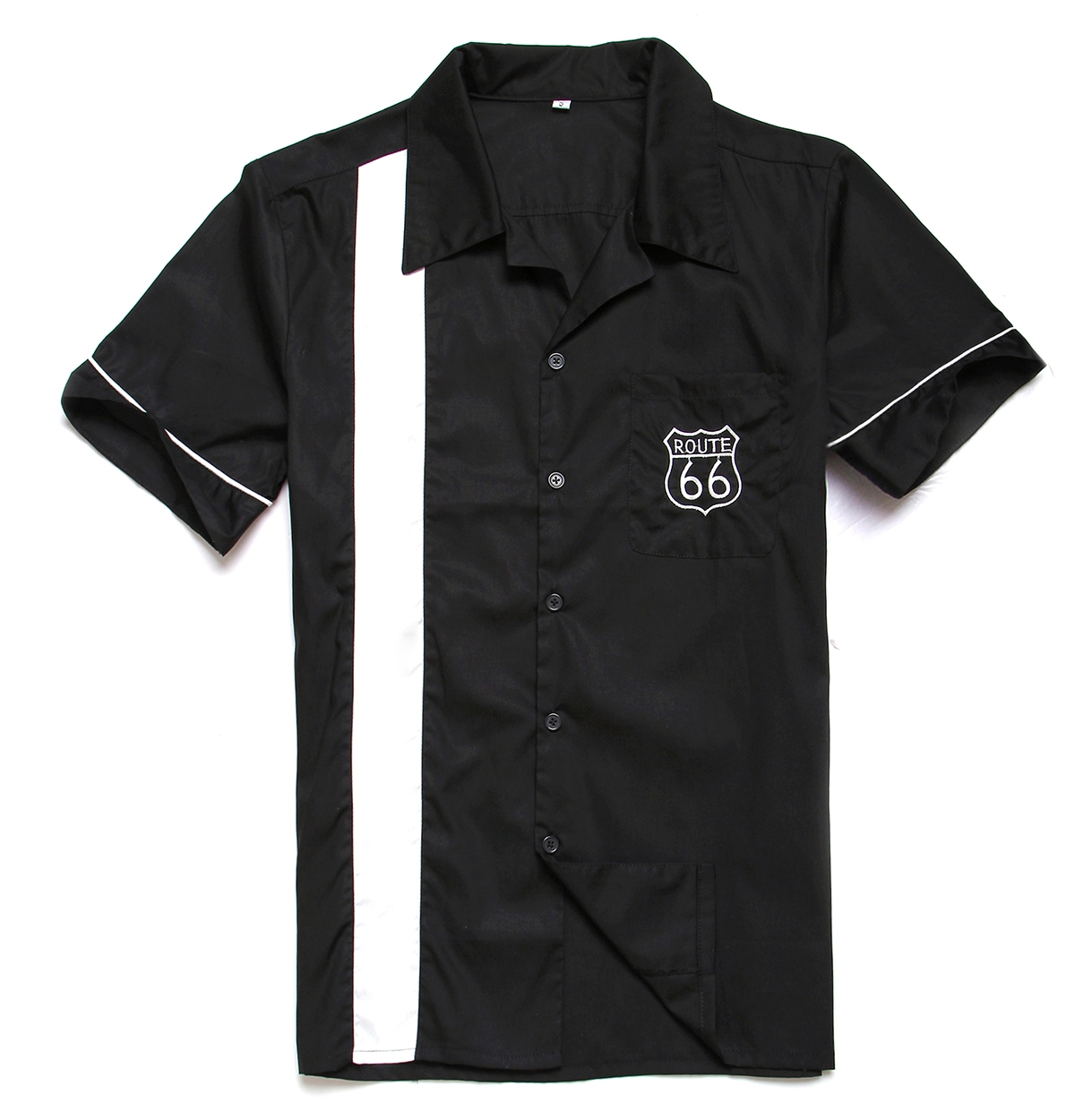 2015 new real camisa solid polo shirt mens fashion cool design short - Wholesale Clothing Short Sleeve Rockabilly 50s 60 S Clothing Men S Design Vintage Casual Rocknroll Shirt For Drop