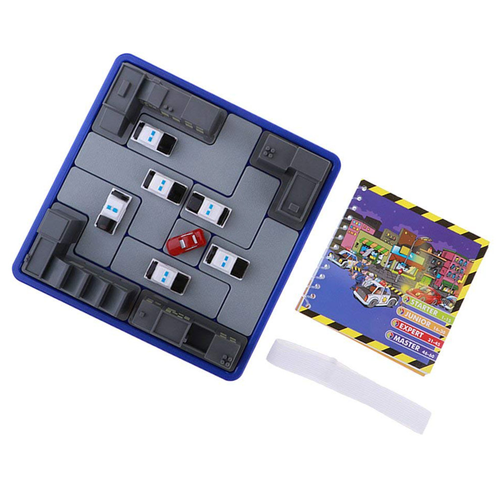 Police Track Caught the Thief 60 Level Desktop Puzzle Games Maze Children Police Caught the Thief Game Intelligence Toys image