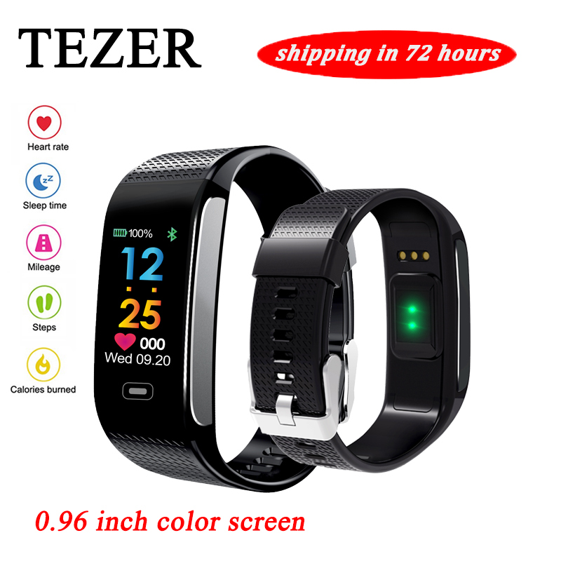 R18S Smart Wristband Heart Rate Monitor IP67 di Forma Fisica di Sport Braccialetto Inseguitore Smartband Bluetooth Per Android IOS PK miband 2