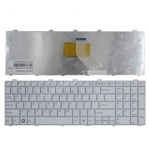 Image 4 - New US Keyboard For  Fujitsu Lifebook AH530 AH531 NH751 A530 A531 Black English Laptop Keyboard