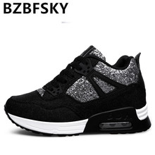 2017 Leather Shoes Handmade Luxury Brand Tenis Feminino Sapato Women Casual Shoes Basket Femme Air Superstar Shoes(China)