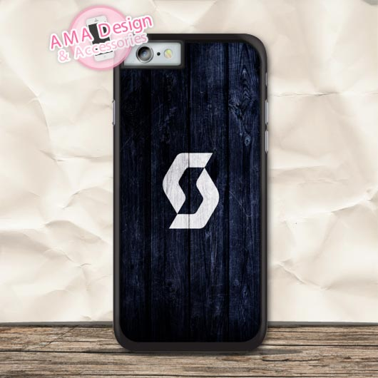 Navy Blue Scatt Sports Bike Fans Protective Case For iPhone X 8 7 6 6s Plus 5 5s SE 5c 4 4s For iPod Touch