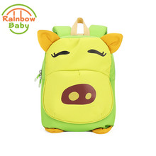 Rainbow Baby Calf Image Colorful Backpack Breathble Kids & Babys Bags Dirt-proof  SchoolBag Anti Scratch Boys and  Girls Bagpack