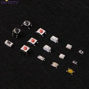 Image 5 - 750 Pcs 15 Valore Tattile Push Button Switch Micro Interruttore per MP3 MP4 Monitor LCD Auto a distanza di controllo Momentaneo Assortimento kit