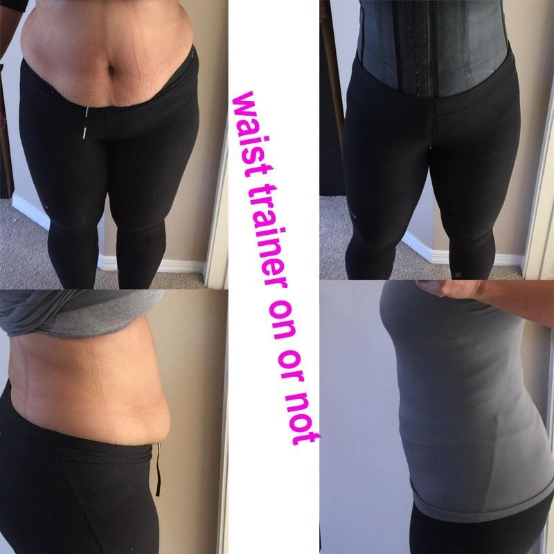 cc74abeeea Miss Moly Colombian Latex Waist Cincher Waist Trainer Trimmer Long Torso  with 3 Hook Rows Plus Size Body Shaper Shapewear Tummy