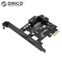 ORICO PVU3 2O2I Desktop 2 Port USB3 0 PCI Express Card 5Gbps For Laptop Black