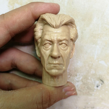 1/6 Magneto Unpainted Head Old Aged Version for 12Action Figures Bodies