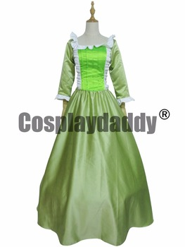 Adult Clothing women dress Sofia the First Amber Dress Princess Cosplay costume for women/girls