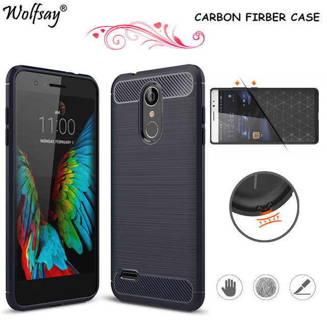 size 40 18584 6c1fd US $2.51 41% OFF|Wolfsay sFor Phone Cover LG K9 Case Shockproof Soft Rubber  Silicone Phone Cover For LG K9 / K8 2018 Case For LG K9 Fundas Shell-in ...