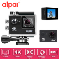 Action Camera Aipal H9 H9R Remote Ultra HD 4K WiFi 1080P 2 0 LCD 173D 40m