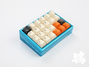 Image 2 - cospad Custom Mechanical Keyboard Kit up tp 24 keys Supports TKG TOOLS Underglow RGB PCB 20% programmed numpad XD21 XD24