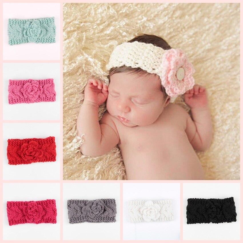 knit crochet turban headband warm knot headbands hair accessories for children hair head band wrap hairband ornaments