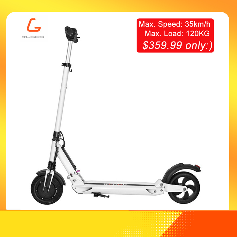 KUGOO S1 patinetas electricas scooter Adulte trottinette électrique 350 W 35 km/h 8 Pouces IP54 charge maximale 120 KG hoverboard vs iscooter nin
