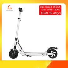 KUGOO S1 patinetas electricas скутер электрический скутер для взрослых 350 W 35 км/ч 8 дюймов IP54 Максимальная нагрузка 120 кг ХОВЕРБОРДА vs iscooter Нин