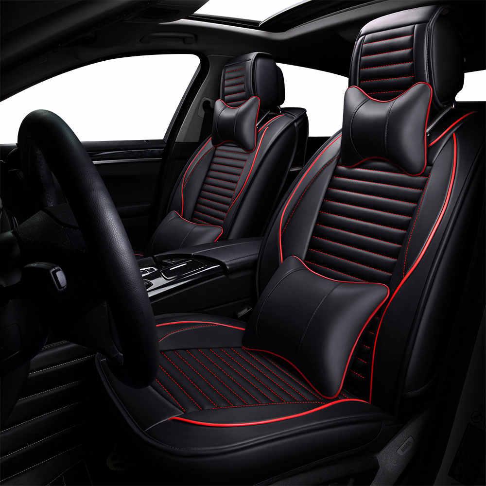 Luxus leder Universal autositzbezüge für nissan sunny sentra x trail x-trail xtrail t30 t31 t32 murano auto sitz schutz