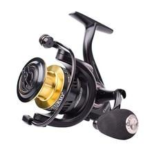DEUKIO Ultralight Spinning Fishing Reel 3000 7000 Max Drag 7 13kg Metal Spool Freshwater Saltwater Carp Fishing Spinning Reel