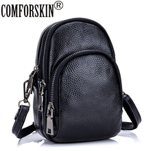 CMFORSKIN Bolsas Feminina Premium Cowhide Mobile Phone Bag 2018 New Arrivals 100% Genuine Leather Women Messenger Hot Sales