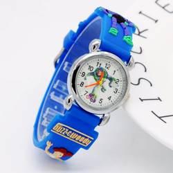 Новое поступление История игрушек 3D мультфильм милые дети девочки мальчики дети студенты кварцевые наручные часы Микки Минни детские часы