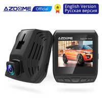 AZDOME DAB211 Ambarella A12 2560x1440P Super HD voiture DVR tableau de bord caméra enregistreur vidéo enregistrement en boucle tableau de bord caméra Vision nocturne GPS