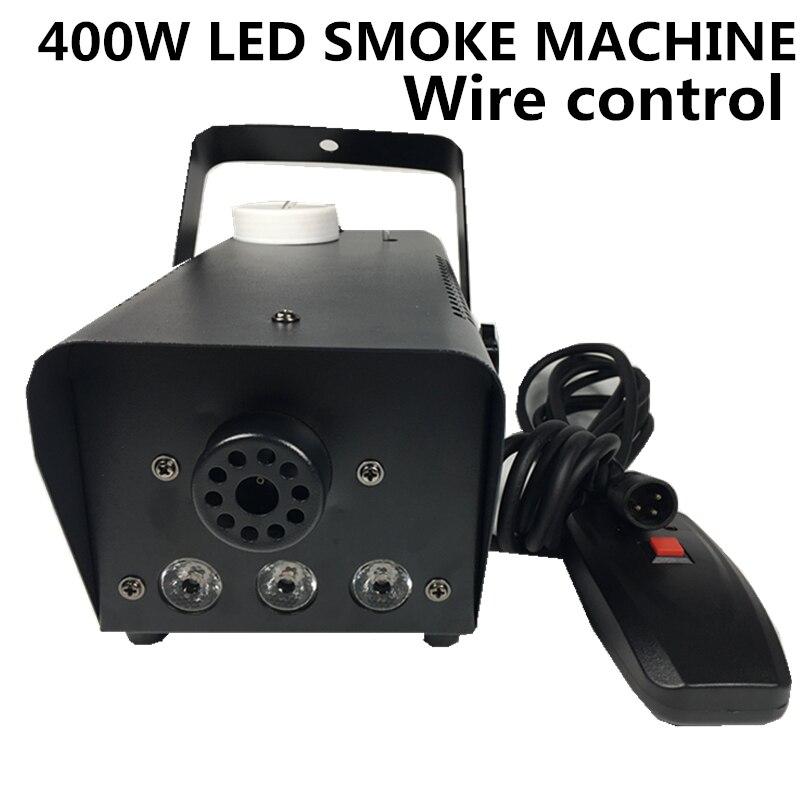 RGB 400W LED smoke machine LED color 400W fog machine professional stage lighting DJ equipment
