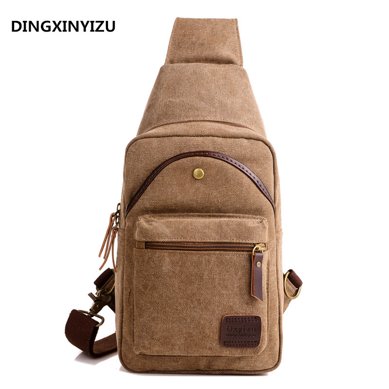 Men Canvas Sling Chest Day Back Pack Bag Travel High Capacity Brand Famous Cross Body Single Rucksack Shoulder Messenger Bags men canvas high capacity travel motorcycle cross body messenger shoulder back pack sling chest casual bag
