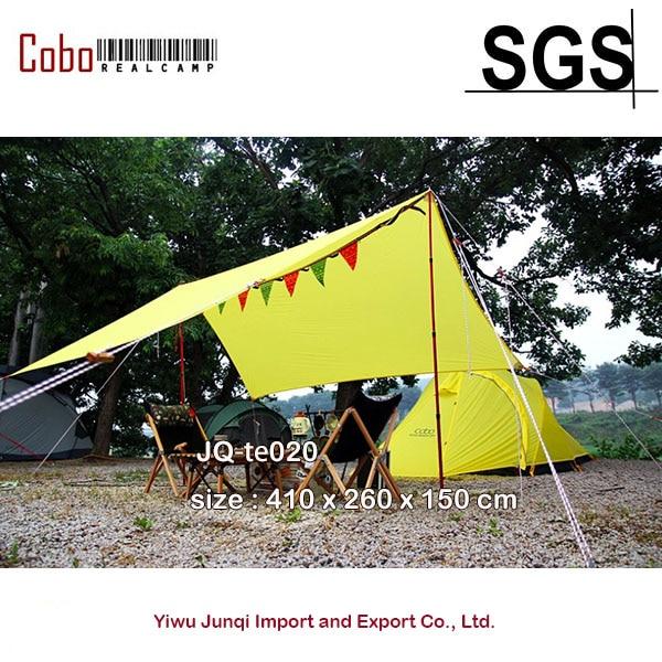 Orange Fabric Shelter : Aliexpress buy backpacker t fabric camping